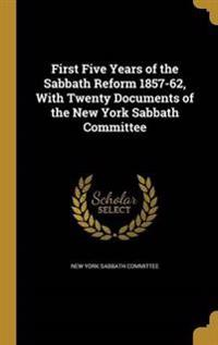 1ST 5 YEARS OF THE SABBATH REF