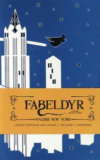Fabeldyr og hvor de er å finne: Magiske New York linjert notatbok