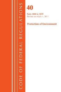 Code of Federal Regulations, Title 40: Parts 1000-1059 (Protection of Environment) TSCA Toxic Substances