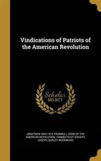 VINDICATIONS OF PATRIOTS OF TH