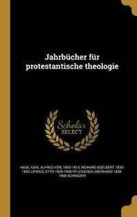 GER-JAHRBUCHER FUR PROTESTANTI