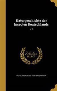 GER-NATURGESCHICHTE DER INSECT