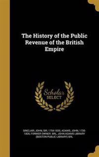 HIST OF THE PUBLIC REVENUE OF