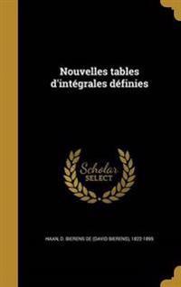 FRE-NOUVELLES TABLES DINTEGRAL