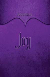 Joy Journal: Purple 5.5x8.5 240 Page Lined Journal Notebook Diary (Volume 1)