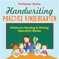 Handwriting Practice Kindergarten: Children's Reading & Writing Education Books