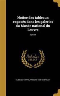 FRE-NOTICE DES TABLEAUX EXPOSE