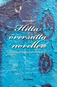 Hitta översatta noveller : ett tematiskt register med kommentarer