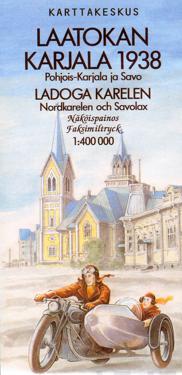 Laatokan Karjala 1938, 1:400 000