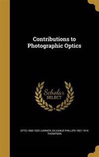 CONTRIBUTIONS TO PHOTOGRAPHIC