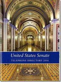 United States Senate Telephone Directory 2016