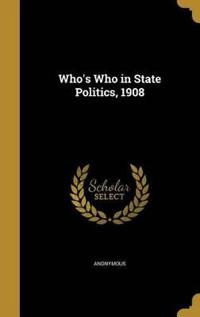 WHOS WHO IN STATE POLITICS 190