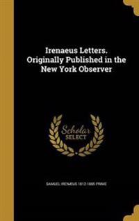 IRENAEUS LETTERS ORIGINALLY PU