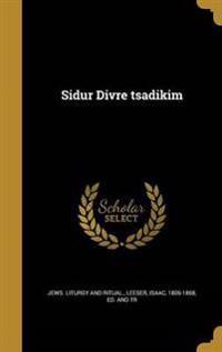HEB-SIDUR DIVRE TSADIKIM