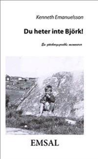 Du heter inte Björk! : en göteborgsgrabbs memoarer