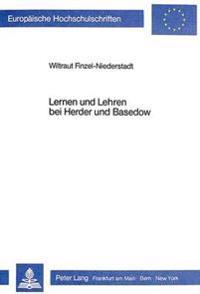 Lernen Und Lehren Bei Herder Und Basedow