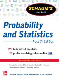 Schaum's Outlines Probability and Statistics