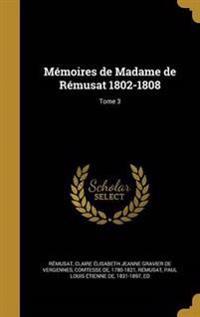 FRE-MEMOIRES DE MADAME DE REMU