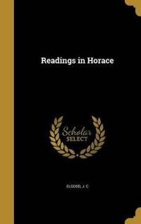 READINGS IN HORACE
