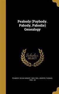 PEABODY (PAYBODY PABODY PABODI
