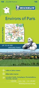 Michelin Environs of Paris Zoom Map