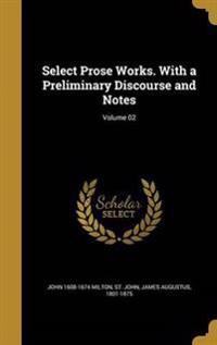 SELECT PROSE WORKS W/A PRELIMI