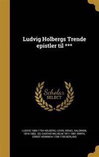 DAN-LUDVIG HOLBERGS TRENDE EPI