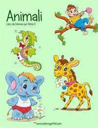 Animali Libro Da Colorare Per Bimbi 3