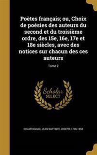 FRE-POETES FRANCAIS OU CHOIX D