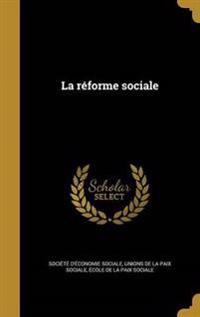 FRE-REFORME SOCIALE
