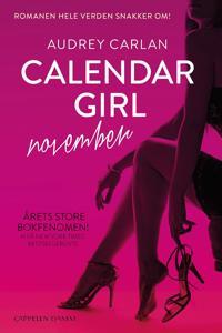 Calendar girl; november