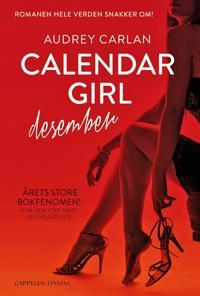 Calendar girl; desember