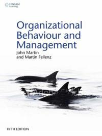 Organizational Behaviour and Management