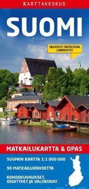 Suomi matkailukartta amp; opas 1:1 000 000