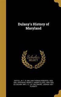 DULANYS HIST OF MARYLAND