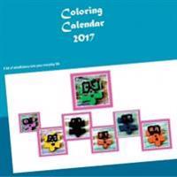 Coloring Calendar 2017