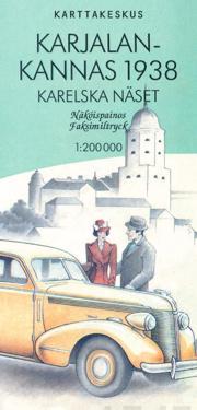 Karjalan kannas 1938, 1:200 000