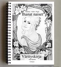 Ihanat naiset -värityskirja