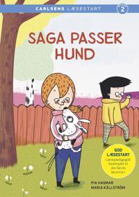 Saga passer hund