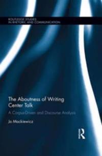 Aboutness of Writing Center Talk
