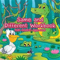 Same and Different Workbook   PreK-Grade K - Ages 4 to 6