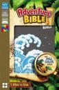 NIV Adventure Bible, Leathersoft, Gray, Full Color Interior