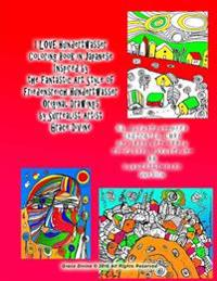 I Love Hundertwasser Coloring Book in Japanese Inspired by the Fantastic Art Style of Friedensreich Hundertwasser Original Drawings by Surrealist Arti