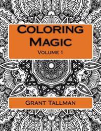 Coloring Magic: Adult Coloring Book