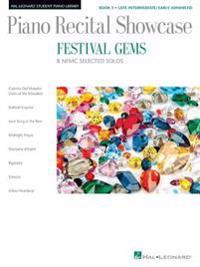 Festival Gems Book 3 - 8 Outstanding Nfmc Late Intermediate/Early Advanced Solos: Piano Recital Showcase