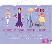 Meine Anziehpuppen-Stickerbücher mini: Die Welt der Stars und Sternchen