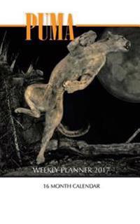 Puma Weekly Planner 2017: 16 Month Calendar
