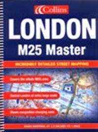 M25 London Master Street Atlas
