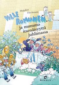 Ville Romunen ja mummo itsenäisyyttä juhlimassa