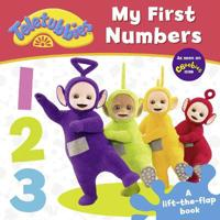 Teletubbies  My First Numbers Lift-the-Flap -  - böcker (9781405286893)     Bokhandel